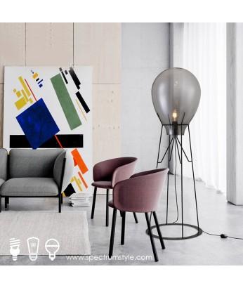 座地燈 - 現代玻璃氣球座地燈 優美典雅 品味之選