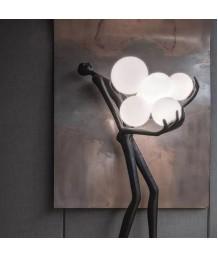 座地燈 - 現代人體雕塑座地燈 線條優雅 品味之選