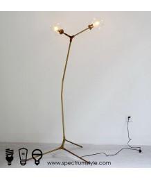 座地燈 - 復古銅製座地燈 設計特別 品味之選
