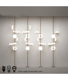 座地燈 - 現代串串燈座地燈 設計新穎 必買之選