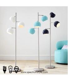 座地燈 - 現代三頭座地燈 設計獨特 潮流之選