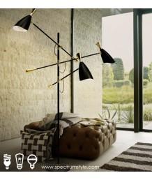 座地燈 - 經典復古三頭地燈 設計特別 品味之選
