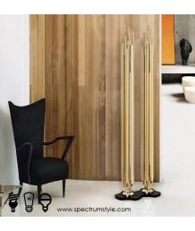 座地燈 - 經典金屬管座地燈 設計特別 品味之選