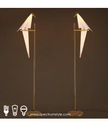 座地燈 - 千紙鶴座地燈 簡單優雅 品味之選