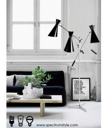 座地燈 - 三頭史丹利地燈 設計特別 品味之選