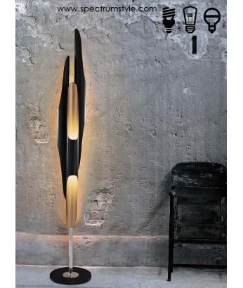 座地燈 - 現代鋁材三管LED座地燈 優美典雅 品味之選