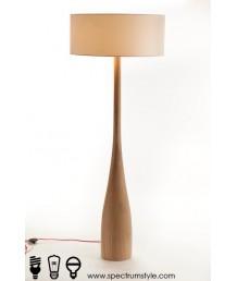 座地燈 - 原木座地燈 簡單優雅 品味之選