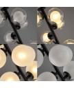 座地燈 - 經典串串波座地燈 設計時尚 豪宅首選