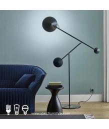 座地燈 - 金屬三頭時尚座地燈 設計特別 品味之選