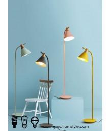 座地燈 - 現代糖果木材座地燈 簡單有型 潮流之選