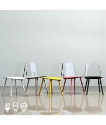 設計師椅 - 經典透明背木椅 優閒時尚精選 多款選擇