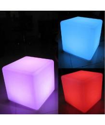 設計師椅 - LED幻彩方椅 時尚精選 部屋必備