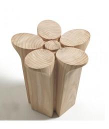 設計師椅 - 原木花花椅 綠色生活 部屋必備