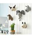 懷舊精品 - 手製可愛動物牆飾 自然氣息 生氣盎然