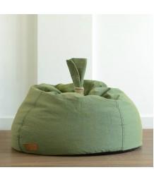 豆豆袋 - 法國Lazy Bag 麻繩手提梨形懶人豆袋