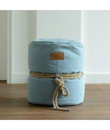 豆豆袋 - 法國Lazy Bag 麻繩圓桶豆袋凳子