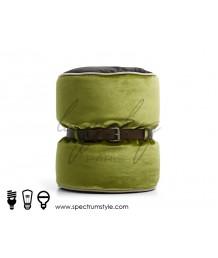 豆豆袋 - 法國Lazy Bag 皮帶圓桶豆袋凳子