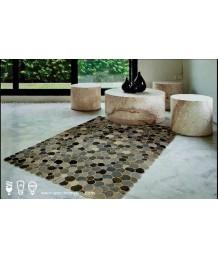 地毯 - 印度舊牛仔褲拼接手工地毯 經典製作 收藏絕品