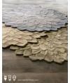 地毯 - 蓮花造型新西蘭羊毛地毯 時尚有型 豪宅必備