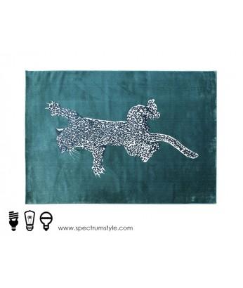 地毯 - 藝術豹型圖案地毯 時尚有型 潮人首選 歡迎訂造