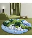 地毯 - 經典花園圖案地毯 時尚有型 部屋必備