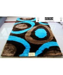 地毯 - 彩藍藝術圖案地毯 經典時尚 潮人必備 歡迎訂造