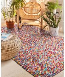 地毯 - 北歐手工編織羊毛藝術地毯 經典時尚 豪宅必備