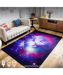 地毯 - 星星圖案數碼印刷地毯 時尚有型 潮人首選