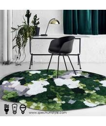地毯 - 不規則經典花園圖案地毯 時尚有型 部屋必備 歡迎訂造