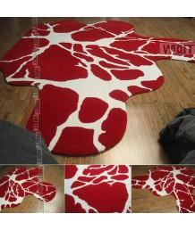 地毯 - 水彩圖案不規則地毯 靈動活潑 歡迎訂造
