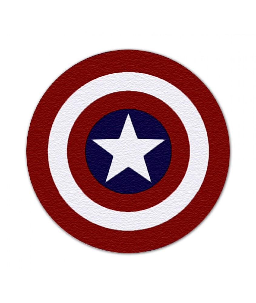 美国队长盾牌圆形地毯