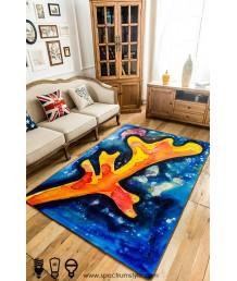 地毯 - 珊瑚圖案數碼印刷地毯 時尚有型 潮人首選