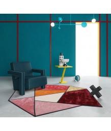 地毯 - 新西蘭羊毛藝術圖案地毯 時尚有型 潮人首選 歡迎訂造