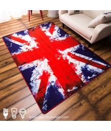 地毯 - 英國米字旗數碼印刷地毯 時尚有型 潮人首選