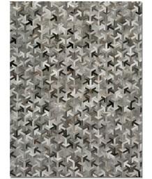 牛皮地毯 - 進口牛皮羊皮拼接地毯 潮人必備 家中亮點 手工製作