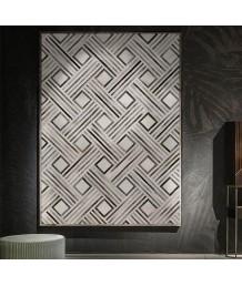 牛皮地毯 - 進口牛皮拼接地毯 潮人必備 家中亮點 手工製作