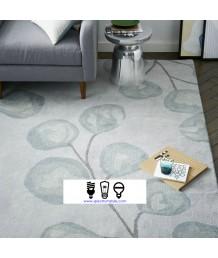 地毯 - 新西蘭進口羊毛植物圖案地毯 時尚有型 潮人首選