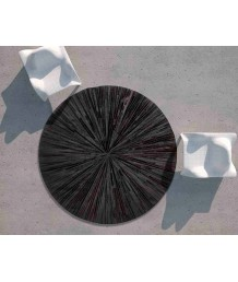 牛皮地毯 - 進口牛皮拼接圓型地毯 潮人必備 家中亮點 手工製作