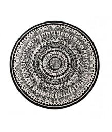 地毯 - 圓形北歐圖案地毯 經典時尚 歡迎訂造