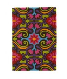 地毯 - 彩花藝術圖案地毯 經典時尚 歡迎訂造