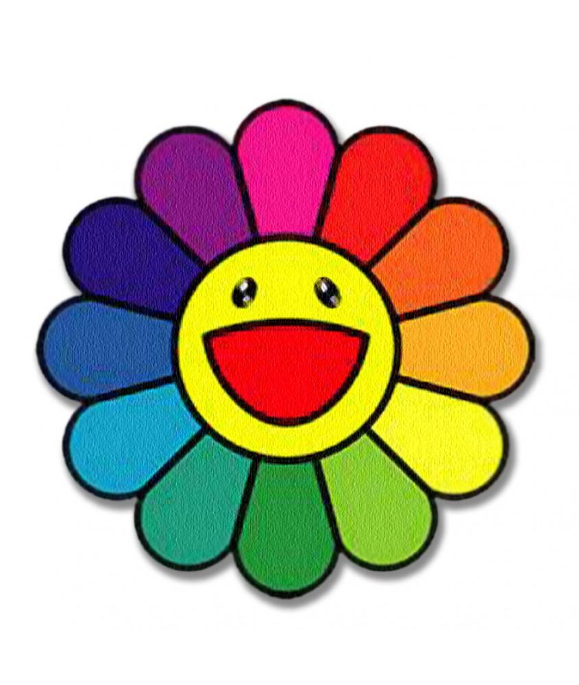 Rainbow Rug Fab Multi Coloured Shabby Chic Braided Cotton