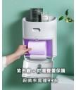 精品 - 韓國設計紫外線消毒廁紙掛牆盒 防菌家居 抗疫必備