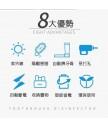 精品 - 韓國設計太陽能紫外線消毒牙刷架 防菌家居 抗疫必備
