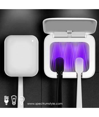 精品 - 韓國設計紫外線消毒牙刷架 防菌家居 抗疫必備