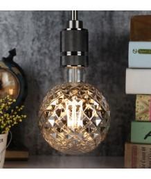 燈膽 - LED filament 黑色刻花玻璃燈膽 經典款式 全新演繹