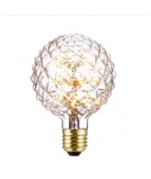 燈膽 - 刻花玻璃流星LED燈膽 經典款式 全新演繹