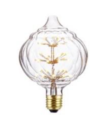燈膽 - 刻花玻璃花燈LED燈膽 經典款式 全新演繹