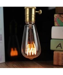 燈膽 - LED Flexible Filament ST64 愛迪生燈膽 經典款式 全新演繹