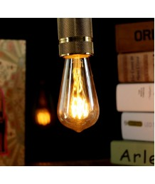 燈膽 - LED Flexible Filament ST58 愛迪生燈膽 經典款式 全新演繹