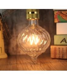 燈膽 - 宮燈型 LED Filament G125 愛迪生燈膽 經典款式 全新演繹